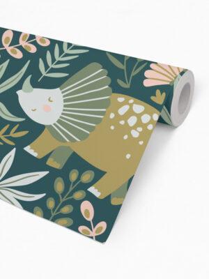 Hello Sticky - Shop - Peel &Amp; Stick Removable Wallpaper - Kids Wallpaper - Jurassic Jungle - Roll 2 View