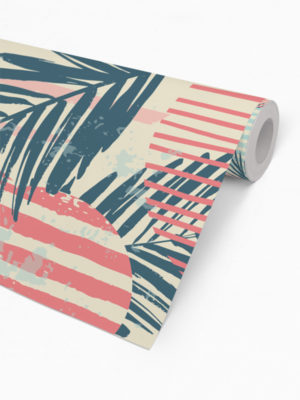 Hello Sticky - Shop - Peel &Amp; Stick Removable Wallpaper - Kids Wallpaper - Surf Pop - Roll 2 View