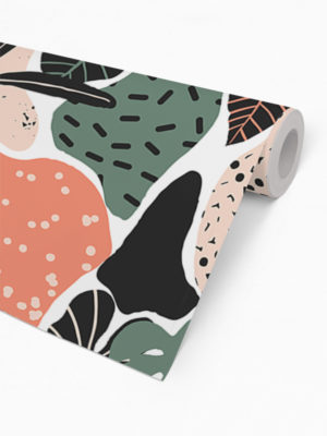 Hello Sticky - Shop - Peel &Amp; Stick Removable Wallpaper - Urban Jungle Wallpaper - Modern Palms - Roll 2 View