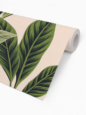 Hello Sticky - Shop - Peel &Amp; Stick Removable Wallpaper - Urban Jungle Wallpaper - Birds Of Paradise - Roll 2 View
