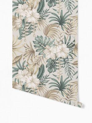 Hello Sticky - Shop - Peel &Amp; Stick Removable Wallpaper - Urban Jungle Wallpaper - Desert Palms - Roll 1 View