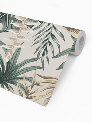 Hello Sticky - Shop - Peel &Amp; Stick Removable Wallpaper - Urban Jungle Wallpaper - Desert Palms - Roll 2 View