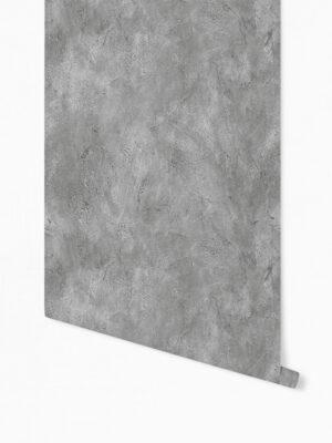 Hello Sticky - Shop - Peel &Amp; Stick Removable Wallpaper - Modern Farmhouse Wallpaper - Concrete - Roll 1 View