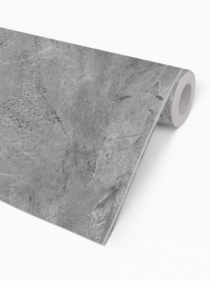 Hello Sticky - Shop - Peel &Amp; Stick Removable Wallpaper - Modern Farmhouse Wallpaper - Dark Concrete Slab - Roll 2 View