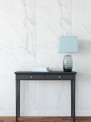 Hello Sticky - Shop - Peel & Stick Removable Wallpaper - Modern Farmhouse Wallpaper - Marble Slab - Main View