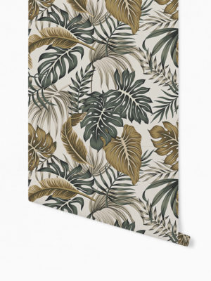 Hello Sticky - Shop - Peel &Amp; Stick Removable Wallpaper - Urban Jungle Wallpaper - After Dark Palms - Roll 1 View