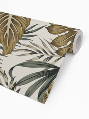 Hello Sticky - Shop - Peel &Amp; Stick Removable Wallpaper - Urban Jungle Wallpaper - After Dark Palms - Roll 2 View
