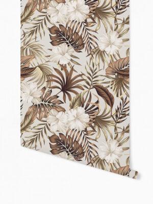 Hello Sticky - Shop - Peel &Amp; Stick Removable Wallpaper - Urban Jungle Wallpaper - Golden Palms - Roll 1 View
