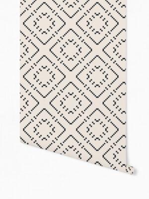 Hello Sticky - Shop - Peel &Amp; Stick Removable Wallpaper - Modern Farmhouse Wallpaper - Basic Basket Weave - Roll 1 View