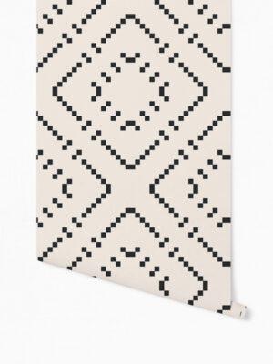 Hello Sticky - Shop - Peel &Amp; Stick Removable Wallpaper - Modern Farmhouse Wallpaper - Oversized Basket Weave - Roll 1 View