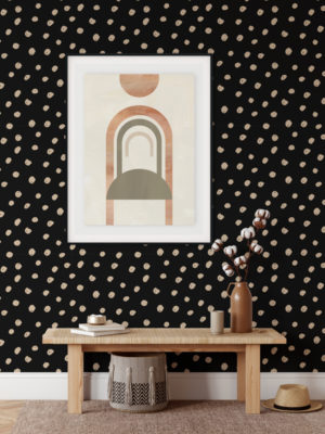 Hello Sticky - Shop - Peel & Stick Removable Wallpaper - Stripe, Spot & Dot Wallpaper - Daring Dots - Main View