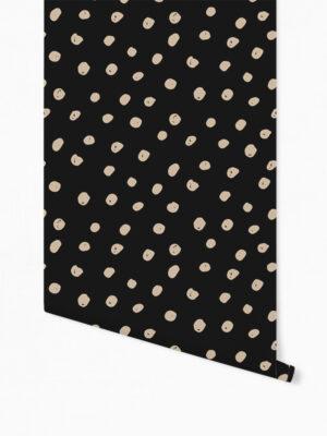 Hello Sticky - Shop - Peel &Amp; Stick Removable Wallpaper - Stripe, Spot &Amp; Dot Wallpaper - Daring Dots - Roll 1 View