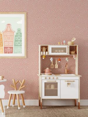 Hello Sticky - Shop - Peel & Stick Removable Wallpaper - Stripe, Spot & Dot Wallpaper - Floral Splatter - Main View