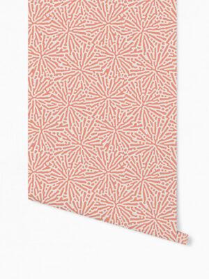 Hello Sticky - Shop - Peel &Amp; Stick Removable Wallpaper - Stripe, Spot &Amp; Dot Wallpaper - Floral Splatter - Roll 1 View