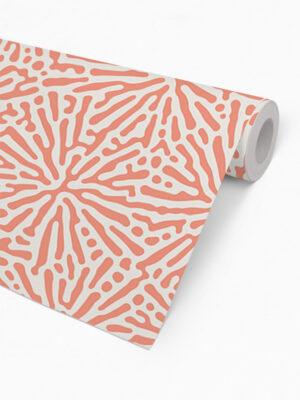 Hello Sticky - Shop - Peel &Amp; Stick Removable Wallpaper - Stripe, Spot &Amp; Dot Wallpaper - Floral Splatter - Roll 2 View