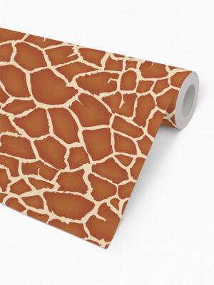 Hello Sticky - Shop - Peel &Amp; Stick Removable Wallpaper - Stripe, Spot &Amp; Dot Wallpaper - Giraffe - Roll 2 View