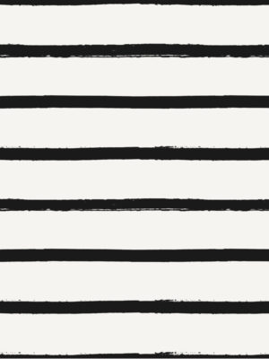 Hello Sticky - Shop - Peel &Amp; Stick Removable Wallpaper - Stripe, Spot &Amp; Dot Wallpaper - Imperfect Stripes - Zoomed In View