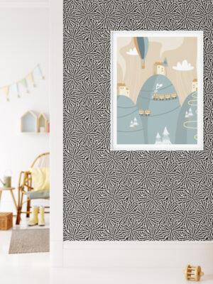 Hello Sticky - Shop - Peel & Stick Removable Wallpaper - Stripe, Spot & Dot Wallpaper - Splatter - Main View