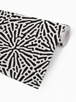 Hello Sticky - Shop - Peel &Amp; Stick Removable Wallpaper - Stripe, Spot &Amp; Dot Wallpaper - Splatter - Roll 2 View