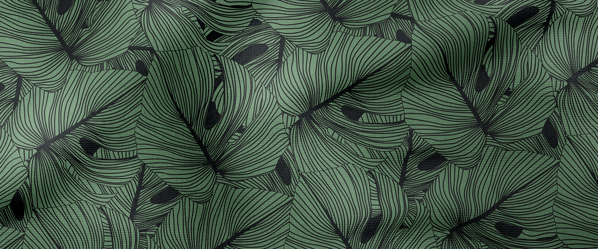 Hello Sticky - Shop - Peel & Stick Removable Wallpaper - Green Wallpaper - Collection Header